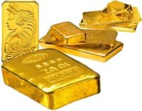 Gold: 250 gramm (250g) Goldbarren